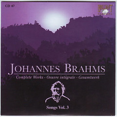 Johannes Brahms Edition: Complete Works (CD47)