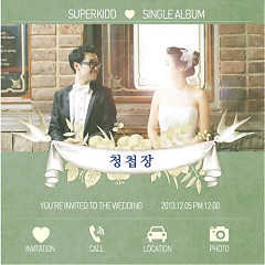 Wedding Invitation - Super Kidd