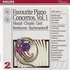 Favourite Piano Concertos CD1