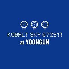 Kobalt Sky 072511 - Yoon Gun