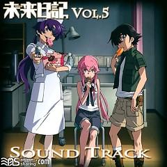 Mirai Nikki Blu-ray Vol.5 Soundtrack CD - Katou Tatsuya