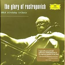 The Glory Of Rostropovich - 80th Birthday Tribute CD1