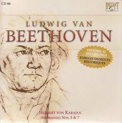 Complete Works CD 088  Symphonies Nos.5  & 7  Herbert von Karajan