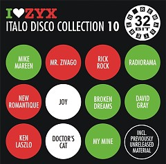 I Love ZYX Italo Disco Collection 10  cd3