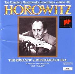 Vladimir Horowitz - The Complete Masterworks Recordings - Vol.8 - Vladimir Horowitz