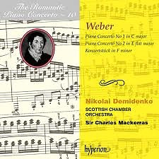 The Romantic Piano Concerto, Vol. 10 – Weber - Nikolai Demidenko,Charles Mackerras,Scottish Chamber Orchestra