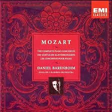 Mozart:The Complete Piano Concetros CD1
