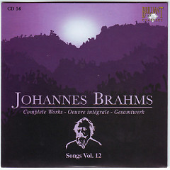 Johannes Brahms Edition: Complete Works (CD56)