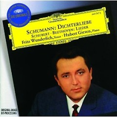 Schumann, Dichterliebe, Beethoven, Schubert No.1