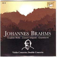 Johannes Brahms Edition: Complete Works (CD9)