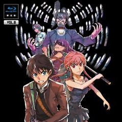 Mirai Nikki Blu-ray Vol.8 Soundtrack CD - Katou Tatsuya