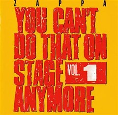You Can't Do That On Stage Anymore, Vol. 1 (CD2)