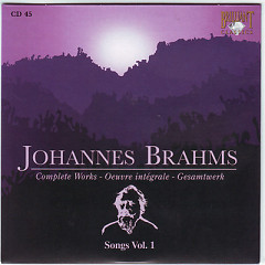 Johannes Brahms Edition: Complete Works (CD45)