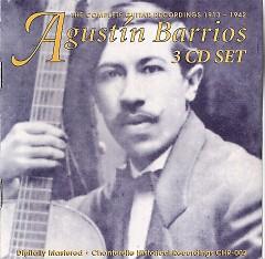 Agustín Barrios CD1 - Agustín Barrios