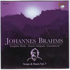 Johannes Brahms Edition: Complete Works (CD51)