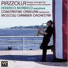 Astor Piazzolla:Tangos Arranged For Saxophone And Orchestra