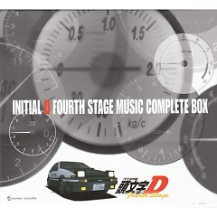 Initial D Fourth Stage Music Complete Box (CD4)