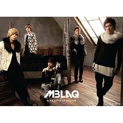 Album Blaq Style (Repackage) - MBLAQ