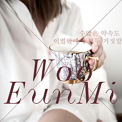 Many Promises Lie Before The Farewells (Single) - Woo Eun Mi