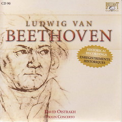 Complete Works CD 090  Violin Concerto Op.61, Romances for Violin & Orchestra Nos.1&2