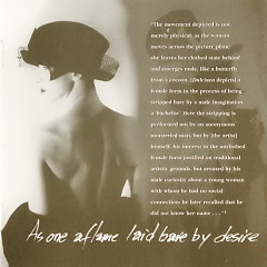 As One Aflame Laid Bare By Desire