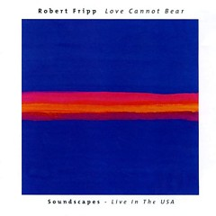 Love Cannot Bear - Soundscapes - Live In The USA
