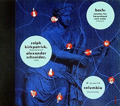 Bach - 6 Sonatas For Harpsichord & Violin (CD 1)