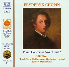 Piano Concertos Nos. 1 And 2 - Frederic Chopin