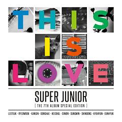 This Is Love (The 7th Album Special Edition) - Super Junior
