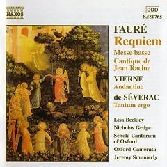 Requiem, Messe Basse, & Cantique - Gabriel Faure