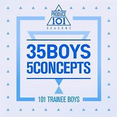 PRODUCE 101 – 35 Boys 5 Concepts (Mini Album) - PRODUCE 101