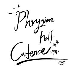 Phrygian Half Cadence
