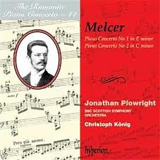 The Romantic Piano Concerto, Vol. 44 – Melcer - Jonathan Plowright,BBC Scottish Symphony Orchestra,Christoph Konig