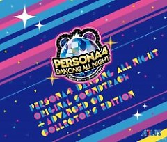 Persona4 DANCING ALL NIGHT Original Soundtrack + ADVANCED CD COLLECTOR'S EDITION CD3