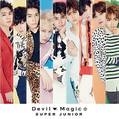 Devil / Magic (Japanese) - Super Junior