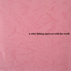 a color linking (me/you) with the world