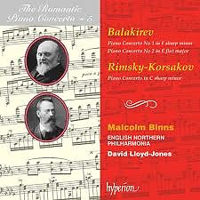 The Romantic Piano Concerto, Vol. 05 – Balakirev & Rimsky-Korsakov  - Malcolm Binns,English Northern Philharmonia,David Lloyd-Jones