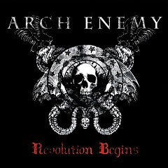 Revolution Begins CD-Single - Arch Enemy