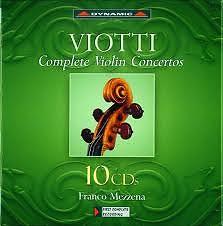Viotti: Complete Violin Concertos  Vol.1 - Franco Mezzena