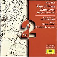 Mozart: The 5 Violin Concertos & Sinfonia Concertante CD1