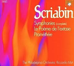 Scriabin: Complete Symphonies CD1