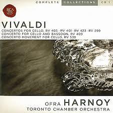 Vivald Complete Cello Concertos CD1 - Ofra Harnoy,Toronto Chamber Orchestra