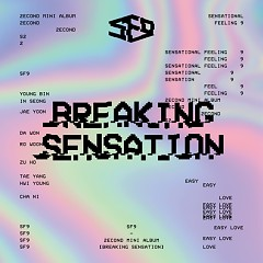 Breaking Sensation (2nd Mini Album) - SF9