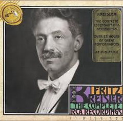 Fritz Kreisler The Complete RCA Recordings CD7 No.1