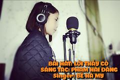 Album Lời Thầy Cô - Bé Hà My -