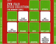 ZYX Italo Disco Collection (The Memory Label)  CD3