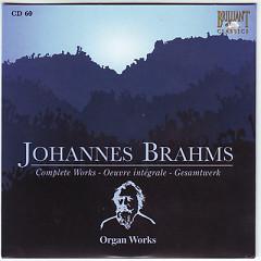 Johannes Brahms Edition: Complete Works (CD60)