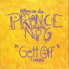 Gett Off (Maxi-Single) - Prince,The New Power Generation