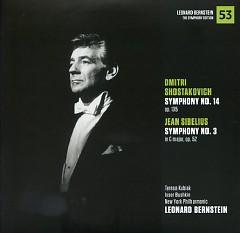 Dmitri Shostakovich – Symphony No 14, Jean Sibelius – Symphony No 3