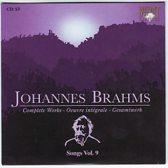Johannes Brahms Edition: Complete Works (CD53)